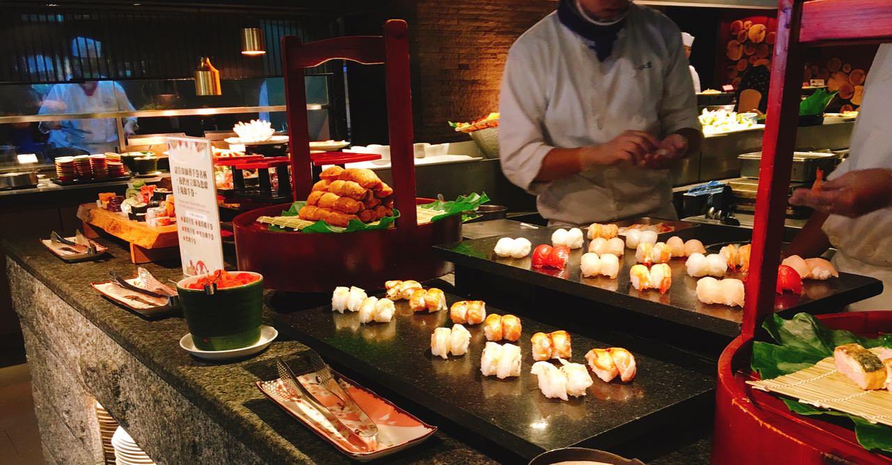 欣葉日本料理》吃到飽餐廳 |  台北中山區 | Japanese Buffet Restaurant