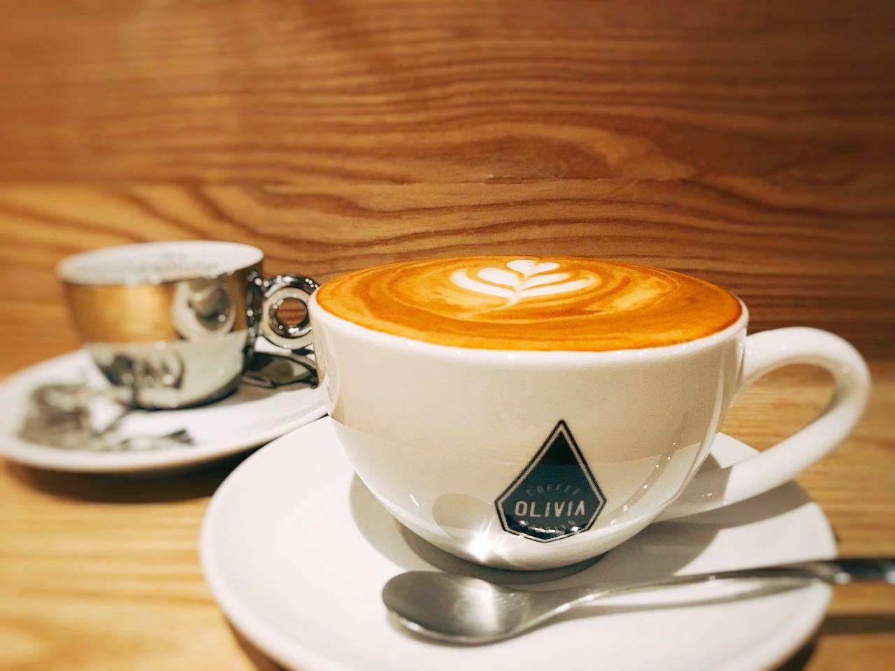 Olivia Coffee Roaster 》 國父紀念館捷運站不限時咖啡店     Taipei Coffee